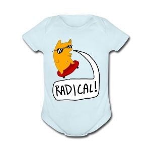 RADICAL! Baby's one piece - Short Sleeve Baby Bodysuit