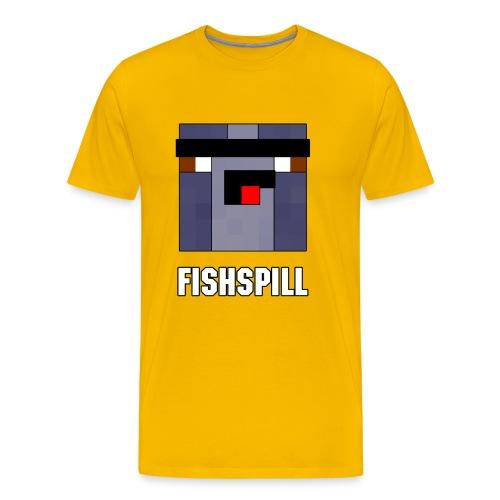 Bootleg Fishspill Emblem - Men's Premium T-Shirt