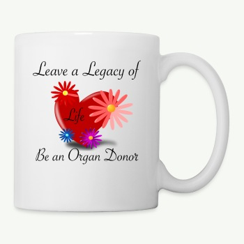 Organ donation Mug - Coffee/Tea Mug