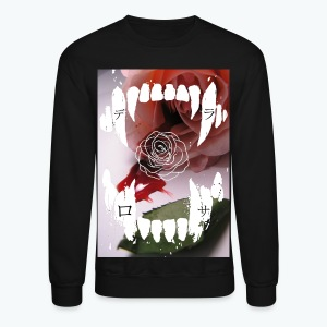 Kiss From A Rose Crewneck - Crewneck Sweatshirt