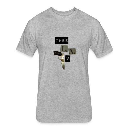 Fitted Band Shirt - Fitted Cotton/Poly T-Shirt by Next Level