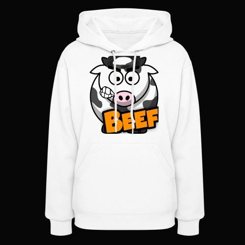 Beef Design - Hoodie (Womens) - Women's Hoodie