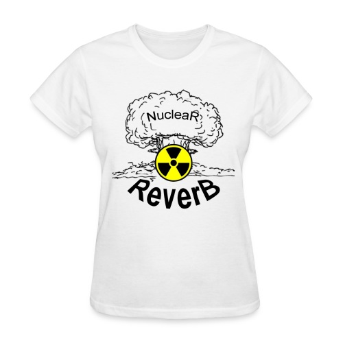 Woman's T-Shirt Nuclear Reverb Logo - Women's T-Shirt