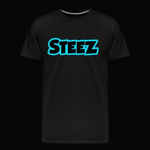 Steez - Electric Blue - Men's Premium T-Shirt