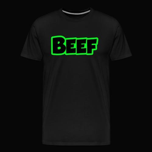 Beef - Electric Green - Men's Premium T-Shirt