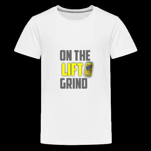 On The Lift Grind - Kids' Premium T-Shirt