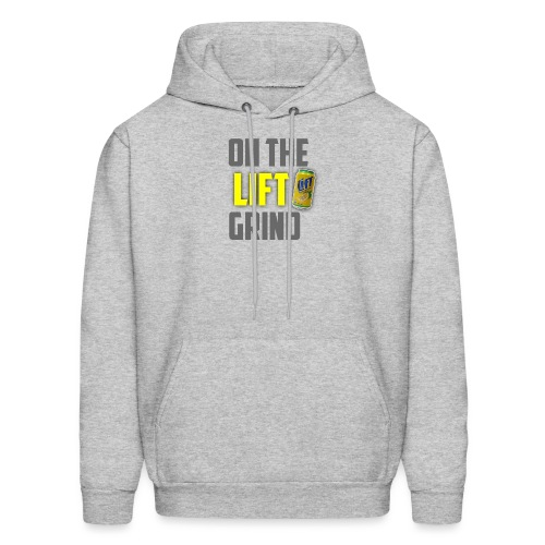 On The Lift Grind - Men's Hoodie