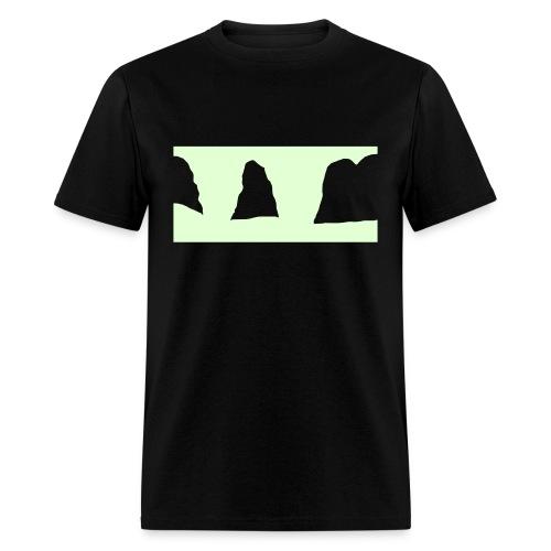 twin wedges - Men's T-Shirt