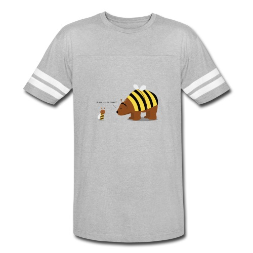 where is my honey - Vintage Sport T-Shirt