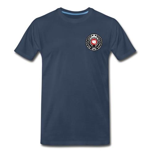 T-shirt med logo på bröstet - Men's Premium T-Shirt