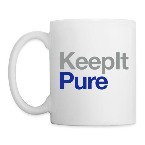 Coffee / Tea Mug - I Like It Pure - Coffee/Tea Mug