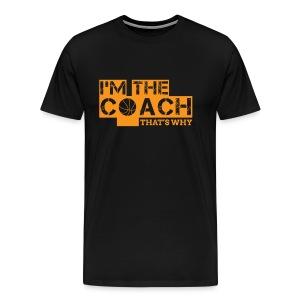 Basketball T-shirt Coach - Men's Premium T-Shirt