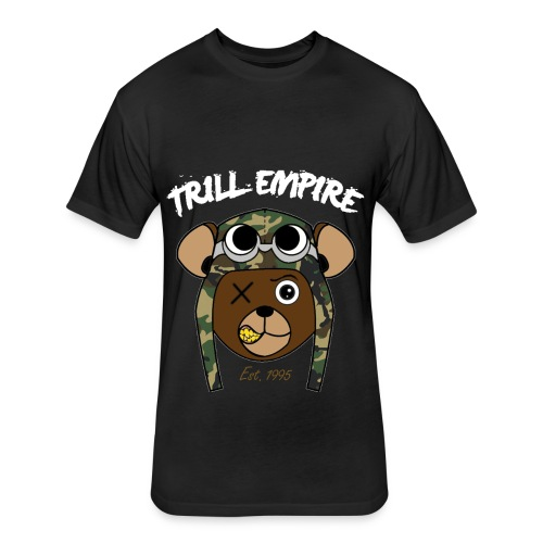 Trill Empire Tee - Fitted Cotton/Poly T-Shirt by Next Level
