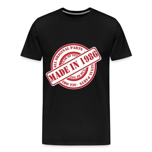 Made In 1986 - Men's Premium T-Shirt