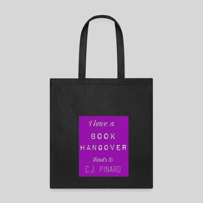 Canvas Tote Bag I HAVE A BOOK HANGOVER