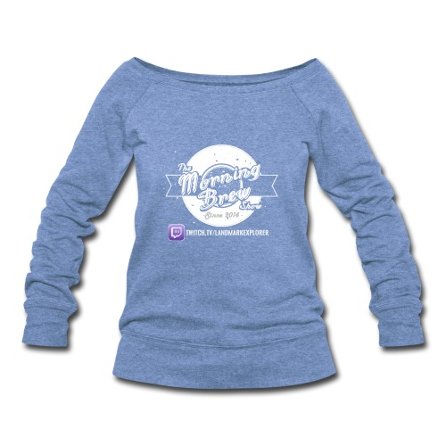 TMBS Original Womens Wideneck Sweatshirt - Women's Wideneck Sweatshirt