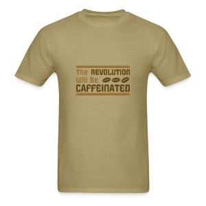 Coffee revolution - Men's T-Shirt