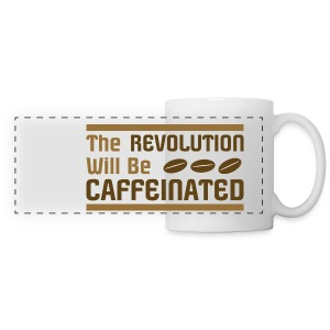 Coffee revolution - Panoramic Mug