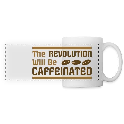 Coffee revolution - Panoramic Mug