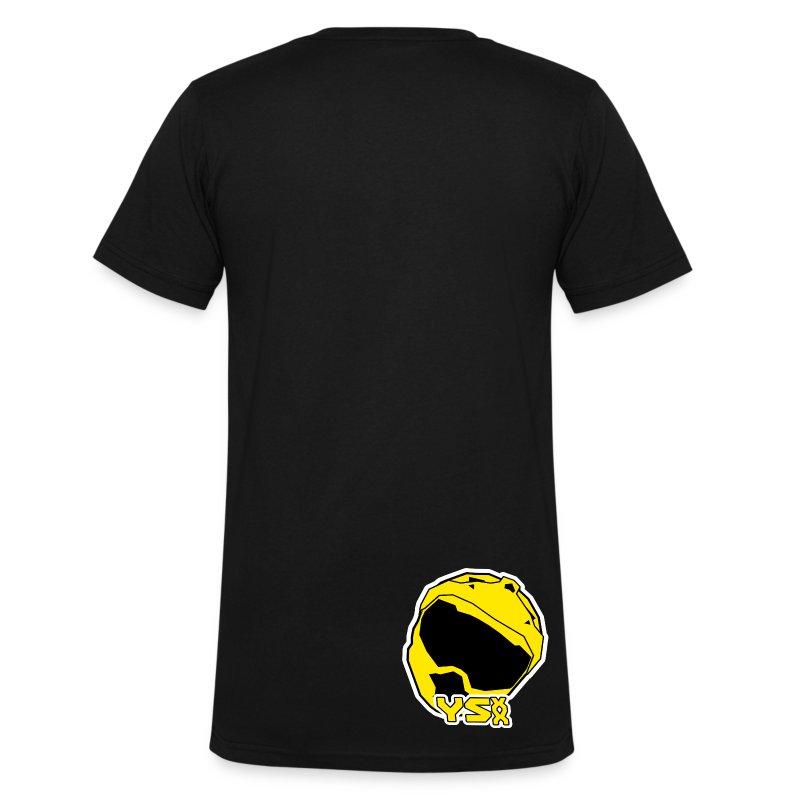 Ysxx logo v neck on back t shirt spreadshirt for V neck back shirt