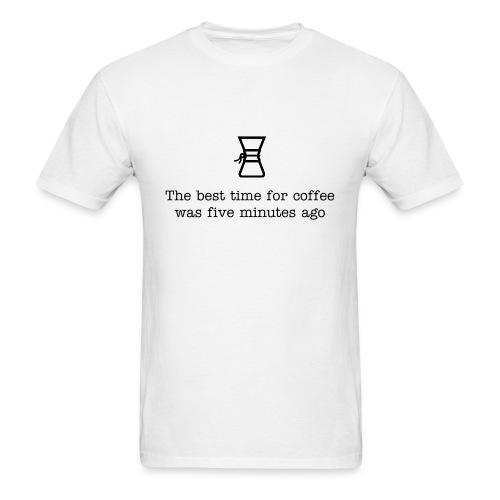 Chemex Best Time For Coffee Classic T - Men's T-Shirt
