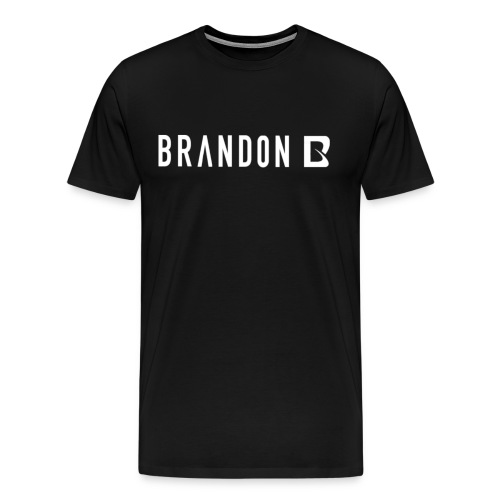 Brandon B Men's T-Shirt ( Black )   - Men's Premium T-Shirt