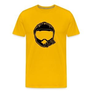 YSXX Logo (Black) - Men's Premium T-Shirt