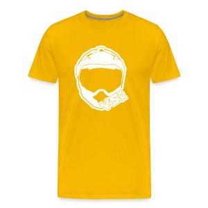 YSXX Logo (White) - Men's Premium T-Shirt