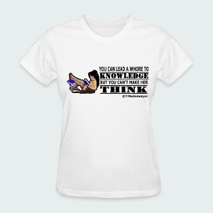 Lead To Knowledge blk - Women's T-Shirt