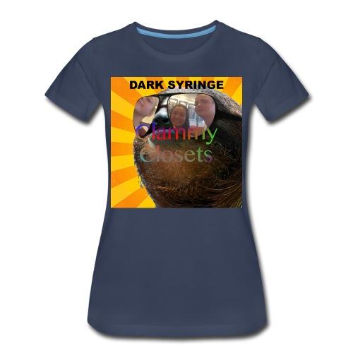 Clammy Closets Women's Tee - Women's Premium T-Shirt