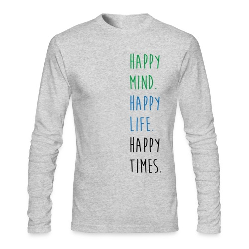 HT.Mind.Life.Times LS Tee - Men's Long Sleeve T-Shirt by Next Level