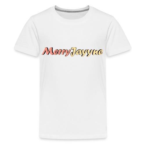 Merry Man-White - Kids' Premium T-Shirt