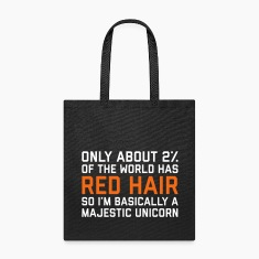 Red Hair Funny Quote Bags & backpacks