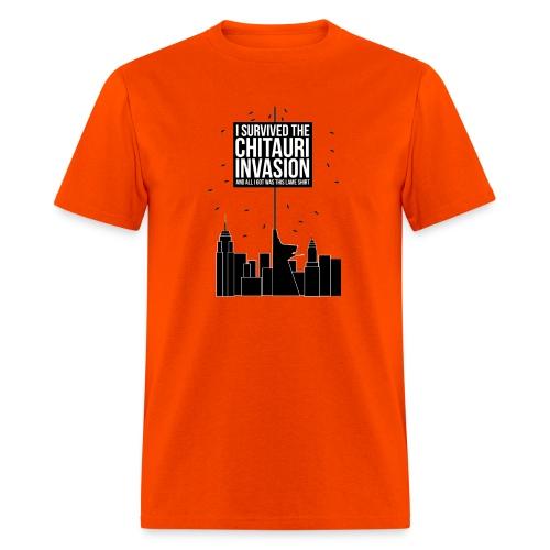 I Survived The Chitauri Invasion.. - Men's T-Shirt