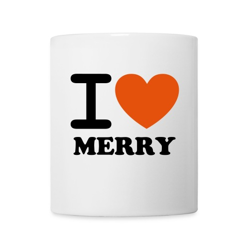 I HEART MERRY MUG - Coffee/Tea Mug