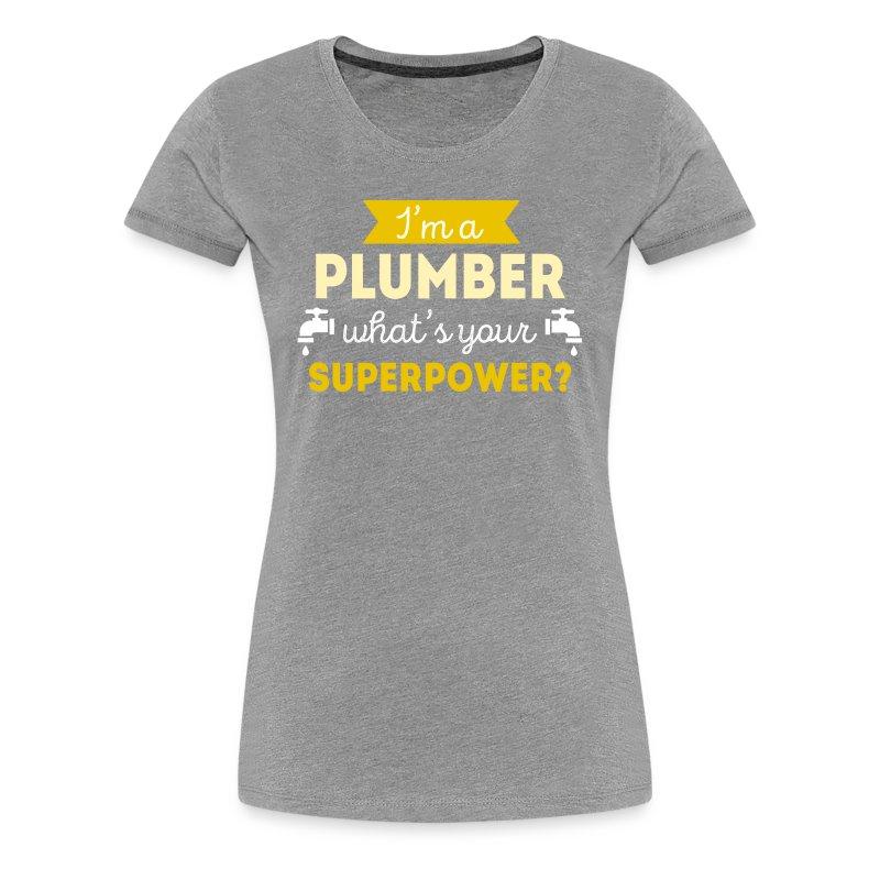 Plumber Superpower Professions Plumbing T Shirt T Shirt