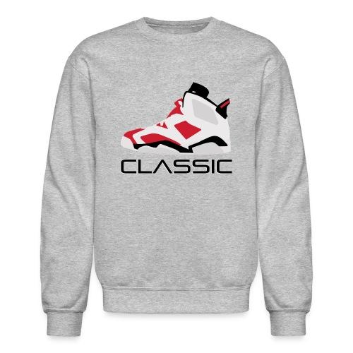 Jordan carmine 6 Crewneck  - Crewneck Sweatshirt