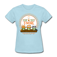 Women's T-Shirts ~ Women's T-Shirt ~ Women's Camp Read S'more T-Shirt