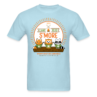 T-Shirts ~ Men's T-Shirt ~ Adult Camp Read S'more T-Shirt