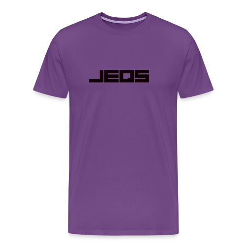 Mens Purple Tee  - Men's Premium T-Shirt