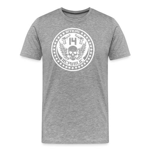 O14R white - Men's Premium T-Shirt