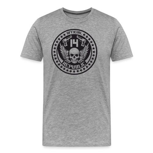 O14R black - Men's Premium T-Shirt