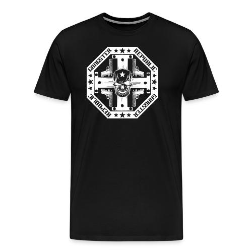 O14R Gangster white - Men's Premium T-Shirt