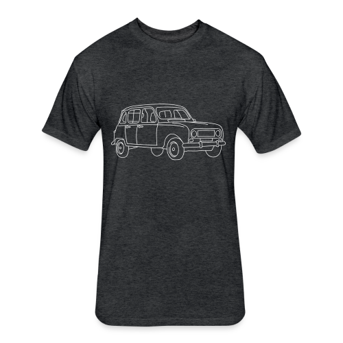 R4 (car) - Fitted Cotton/Poly T-Shirt by Next Level
