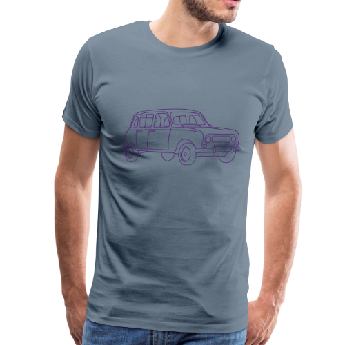 R4 (car) - Men's Premium T-Shirt