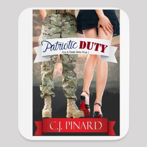 Vertical Foam Mousepad PATRIOTIC DUTY - Mouse pad Vertical