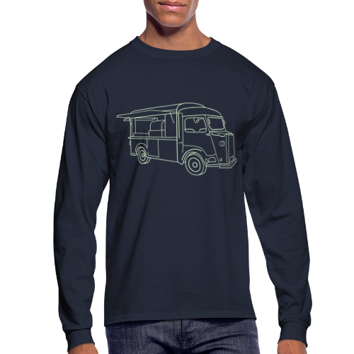 Food Truck - Men's Long Sleeve T-Shirt