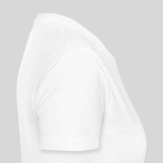Women's Premium T-Shirt C.J. PINARD LOGO White