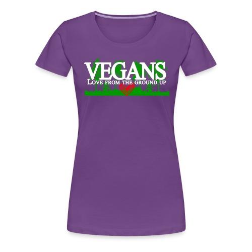 Vegan Stronger Than You Girls - Women's Premium T-Shirt