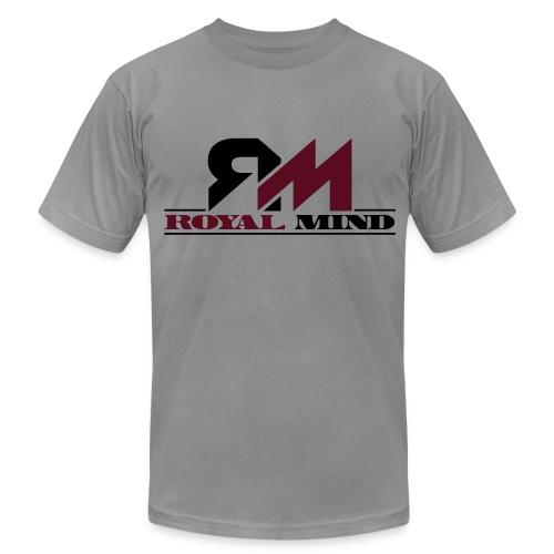 Royal Mind Bordeaux Tee - Men's Fine Jersey T-Shirt